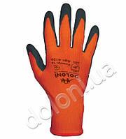 Перчатки ТМ Doloni с латексным покрытием оранжевые 13 класс*10 размер