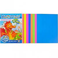 Цветной картон А4 флуоресцентный, 8 лист… (арт.200439/КЦ013/1)