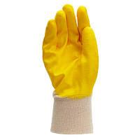 Перчатки ТМ Doloni с нитриловым покрытием, неполный облив 10 размер