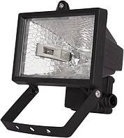 Прожектор. e.halogen.150.black 150Вт черный прожектор