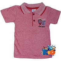 """Детская футболка-поло """"CMK Sport"""" , трикотаж , для мальчиков от 6-10 лет (5 ед.в уп.)"""