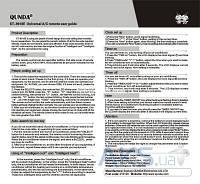 Пульт для  кондиционера Qunda KT-9018E (4000 кодов) Универсальный