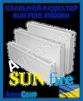 Стальной радиатор Sunfire (WorldPan) 500x500 тип 22 боковое подключение