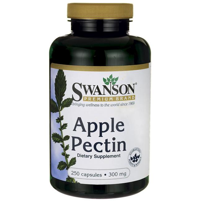 Пектин Яблочный, 300 мг. 250 капсул