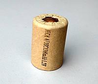 (Банка) Элемент аккумулятора шуруповерта  Ni-Cd  4/5 SC 1300 mAh   1.2 V  (22*33 мм)