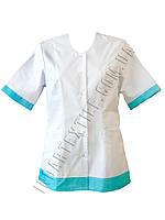 Куртка медицинская женская, коттон, фото 1