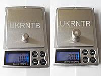 Весы электронные / Весы ювелирные карманные / Ваги електронні 0,1-1000/2000 г