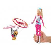 BARBIE® Кукла Барби с летающим котом Попкорном из серии Barbie и космические приключения