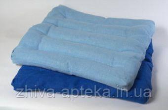 Подушка-коврик из гречневой лузги 49*49см (хлопок)