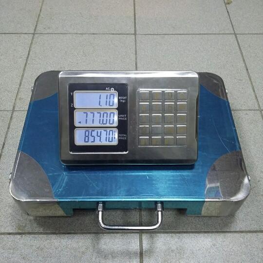 Товарные весы Олимп Р1+S_200 кг (320х420мм)
