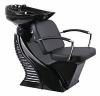 """Кресло-мойка — черная большая """"Гофрэ"""""""