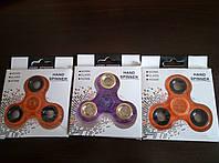 Спиннер, Fidget spinner ,на подшипнику с бреском разные цвета, фото 1