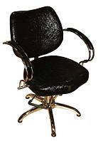 Кресло парикмахерское 0013 — черное