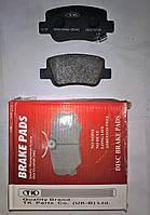Тормозные колодки задние Toyota Avensis с 2009 (Т27)