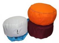 """Подушка для медитации """"дзафу"""" из гречневой лузги 15*30см (хлопок)"""