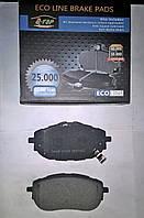 Тормозные колодки передние Toyota Corolla 2013