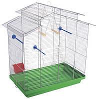Клетка для птиц Природа Нимфа хром  70*40*76см (не разборная)