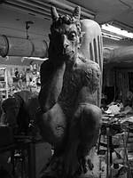 Скульптура чертик, фото 1