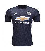Футбольная форма Манчестер Юнайтед безномерная, выездная сезон 2017/2018