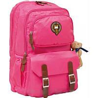 Подростковый рюкзак для девочки yes 1 Вересня 552555 oxford x163 розовый 47*29*16см
