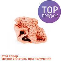 Умный пластилин, Персиковый 80г, уникальная жвачка для рук / хендгам