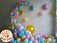№1 Оформление фотозоны воздушными шарами Днепр