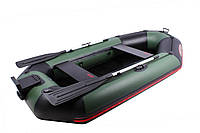 Двухместная надувная ПВХ лодка Vulkan V280 LSPT(ps)