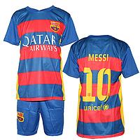 Детская футбольная форма Барселона недорого в Украине MC01-2