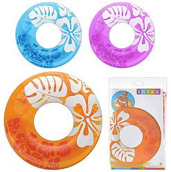 Детский круг для плавания.. Надувной круг. Круг детский надувной Intex.
