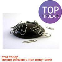Умный пластилин Черный, Handgum, магнитный 80г - полезная и занимательная игрушка , жвачка для рук