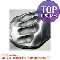Жвачка для рук Серебро 80г, Handgum, Silly Putty/умный пластилин