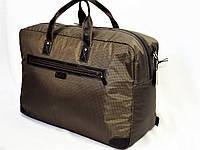 Саквояж дорожный сумка Tom Stone Украина коричневый большой