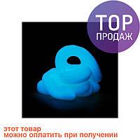 Handgum Голубой – оригинальный и полезный тренажер для рук. Светится в темноте - 50 гр