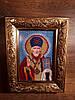Бисер вышивка купить Икона Святой Николай Чудотворец