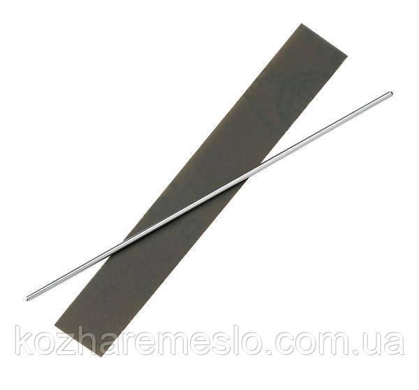 Приспособление для заточки стамески для скругления края кожи  (фаскоснимателя)
