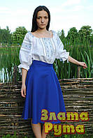 Біла жіноча вишиванка