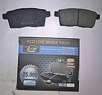 Тормозные колодки задние Mazda CX-7, CX-9