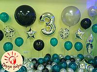 №11 Фотозона из гелиевых шаров Днепр