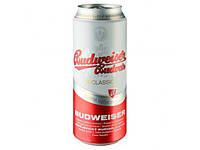 Пиво светлое Budweiser Budvar 10% 0.5 банка