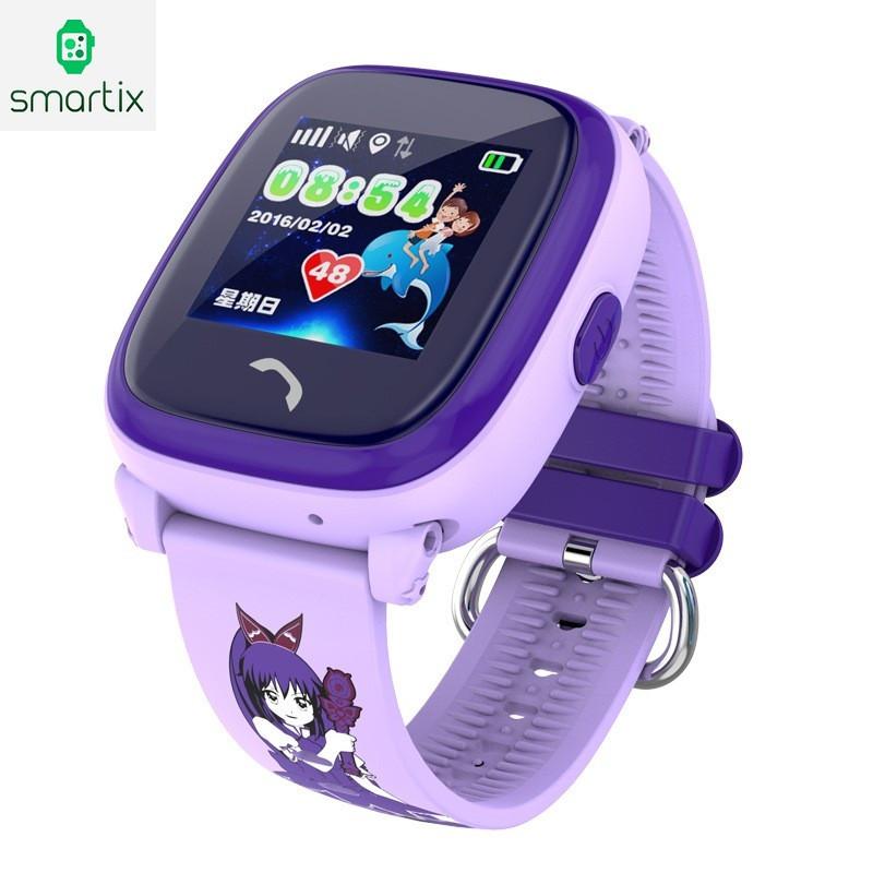 Детские умные часы smart baby watch Smartix LBS DF25 (Q100 aqua) Гарантия 6f3233f9b9385