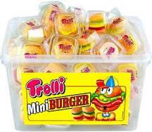 Жевательные конфеты Trolli Мини Бургер