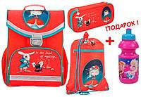 "Комплект. Рюкзак школьный каркасный Alice in wonderland K17-529S-1 + пенал + сумка, ТМ ""Kite"""