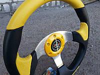 Руль спортивный Sultan №582 (желтый)., фото 1