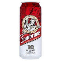 Пиво светлое Gambrinus Original 4.3%  0.5 банка