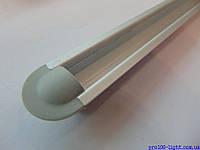Алюминиевый врезной профиль ЛПВ-7 для светодиодных лент+рассееватель