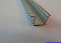 Алюминиевый врезной профиль ЛПВ-12 для светодиодных лент+рассееватель