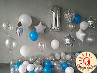 №14 Фотозона из гелиевых шаров Днепр