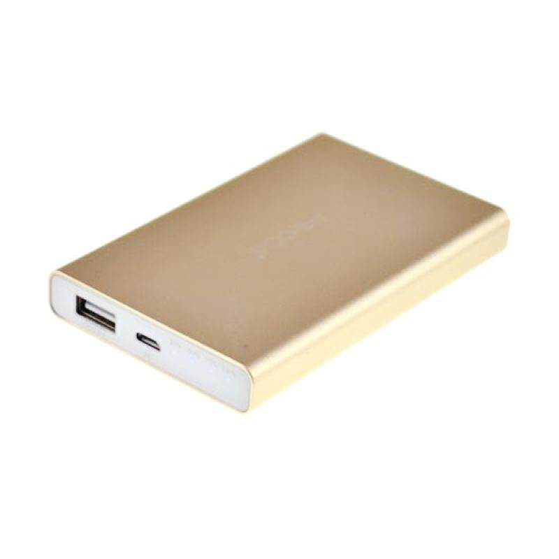 PowerBank Proda Jane Alu Power Box 6200mAh Gold
