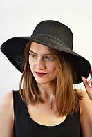 Шляпа Монтекристо черная