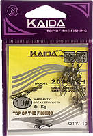 Карабин с вертлюгом Kaida 2007 SH №8